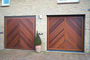 Hormann Up and Over Timber Garage Doors