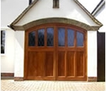 Side Hinged Timber Garage Doors