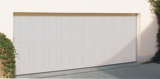 Hormann lth40 routed sectional timber door