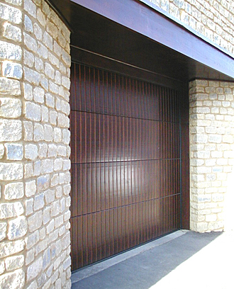 period style timber sectional door