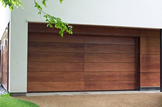 timber secional door design