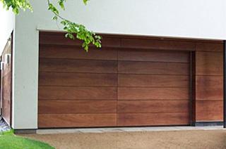 timber secional door design