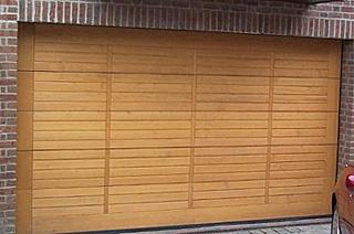 rundum meir sectional overhead garage door