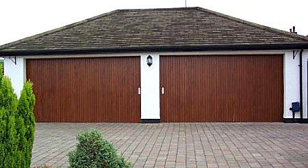 rundum original timber round the corner doors large garage