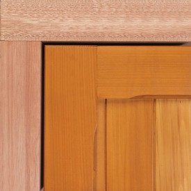 hardwood timber sub frame