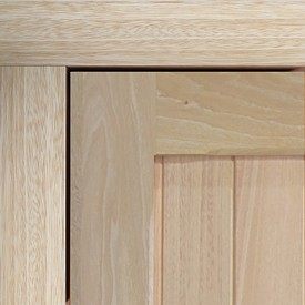 idigbo timber fixing frame and door panel