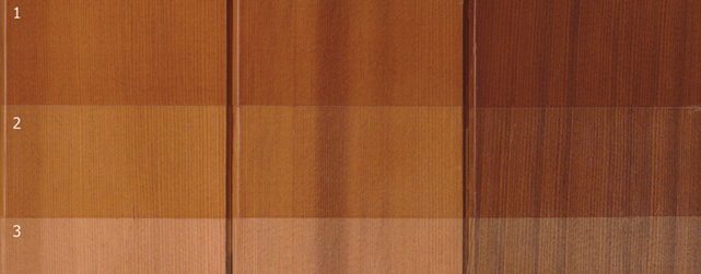 cedar wood in varying base colours