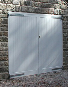 Timber Garage Doors, High Quality Wooden Garage Door, Up and Over ...