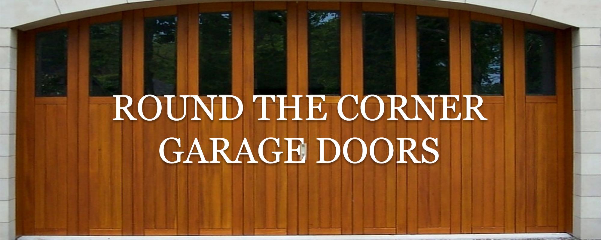 timber side sectional garage door