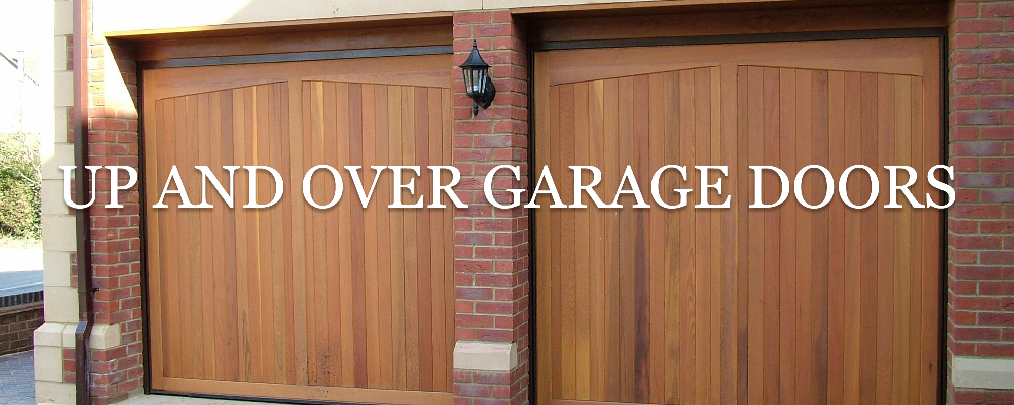 Up and Over Timber Garage Doors